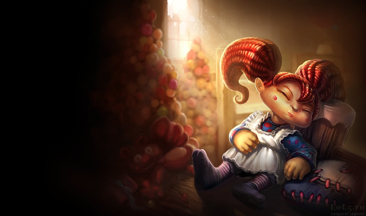 Wallpaper_League_of_Legends-308, Poppy (Размеры 1215x717px/81.3Kb)